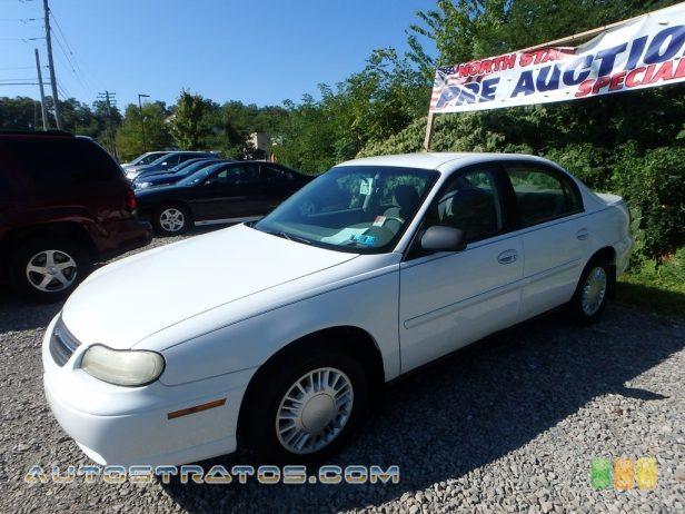 2003 Chevrolet Malibu Sedan 3.1 Liter OHV 12 Valve V6 4 Speed Automatic