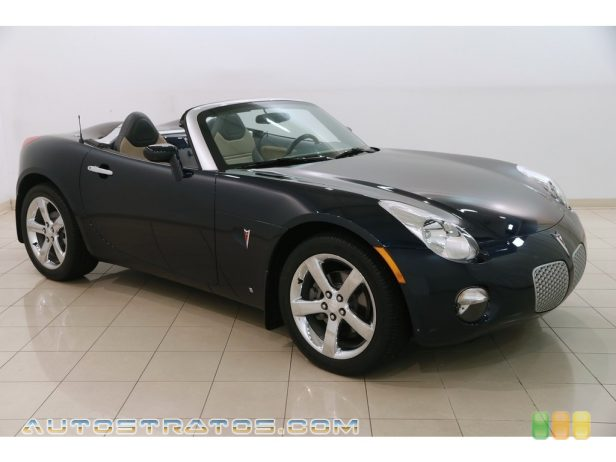 2007 Pontiac Solstice Roadster 2.4 Liter DOHC 16-Valve 4 Cylinder 5 Speed Manual