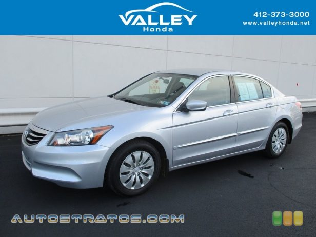 2011 Honda Accord LX Sedan 2.4 Liter DOHC 16-Valve i-VTEC 4 Cylinder 5 Speed Automatic