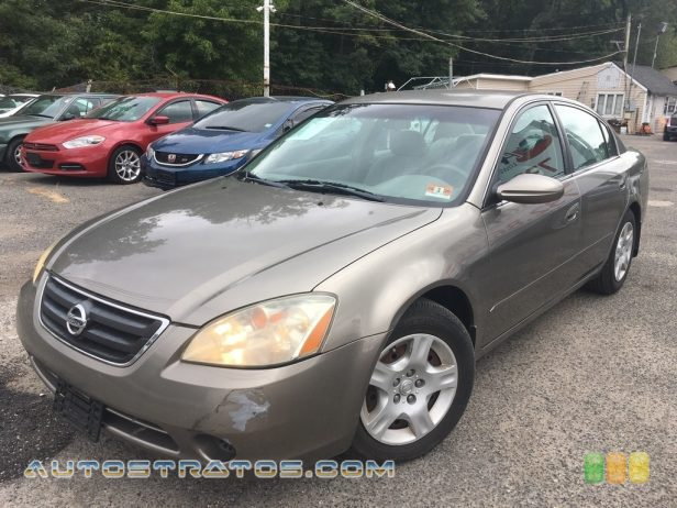 2002 Nissan Altima 2.5 S 2.5 Liter DOHC 16V 4 Cylinder 4 Speed Automatic