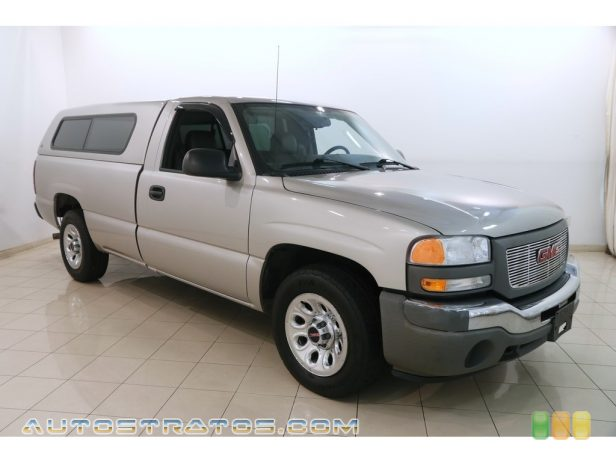 2006 GMC Sierra 1500 Regular Cab 4.3 Liter OHV 12V Vortec V6 4 Speed Automatic