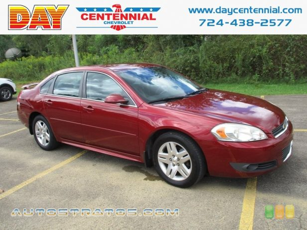 2010 Chevrolet Impala LT 3.5 Liter Flex-Fuel OHV 12-Valve VVT V6 4 Speed Automatic