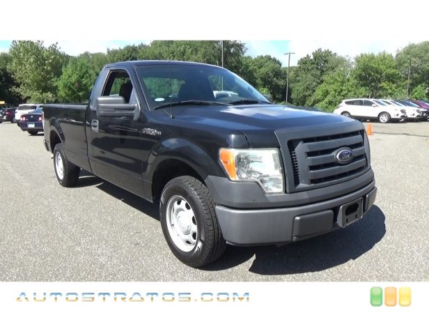 2010 Ford F150 XL Regular Cab 4.6 Liter SOHC 16-Valve Triton V8 4 Speed Automatic