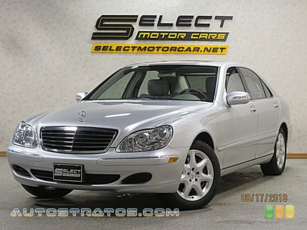 2005 Mercedes-Benz S 500 4Matic Sedan 5.0 Liter SOHC 24-Valve V8 5 Speed Automatic