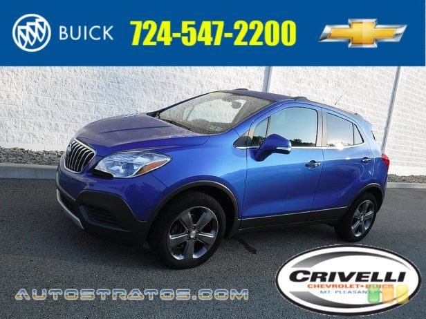 2014 Buick Encore AWD 1.4 Liter Turbocharged DOHC 16-Valve VVT ECOTEC 4 Cylinder 6 Speed Automatic