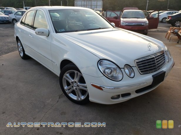2006 Mercedes-Benz E 350 4Matic Sedan 3.5 Liter DOHC 24-Valve VVT V6 5 Speed Automatic