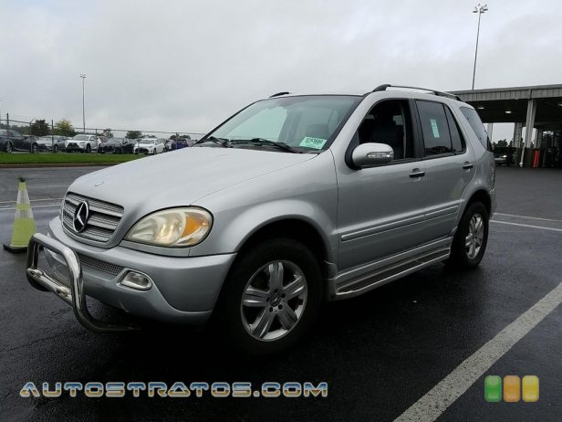 2005 Mercedes-Benz ML 500 4Matic 5.0 Liter SOHC 24-Valve V8 5 Speed Automatic
