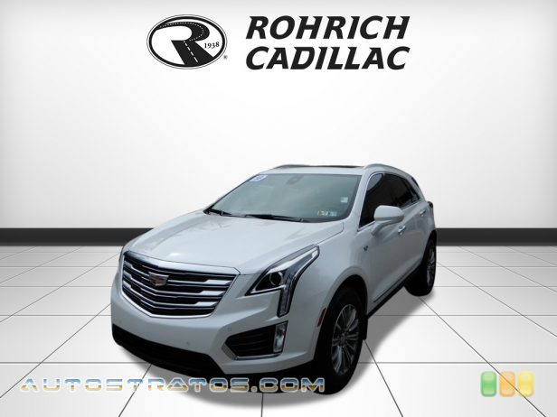 2018 Cadillac XT5 Luxury AWD 3.6 Liter DOHC 24-Valve VVT V6 8 Speed Automatic