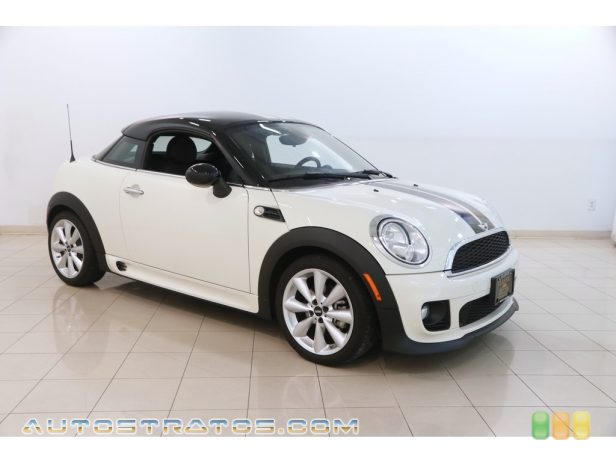 2014 Mini Cooper Coupe 1.6 Liter DOHC 16-Valve VVT 4 Cylinder 6 Speed Manual