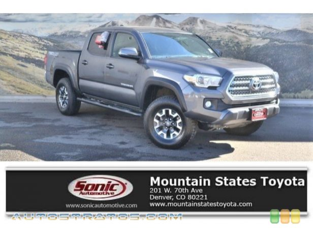 2017 Toyota Tacoma TRD Off Road Double Cab 4x4 3.5 Liter DOHC 24-Valve VVT-iW V6 6 Speed ECT-i Automatic