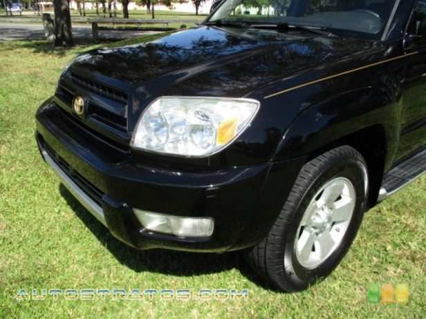 2004 Toyota 4Runner Limited 4x4 4.0 Liter DOHC 24-Valve VVT-i V6 4 Speed Automatic