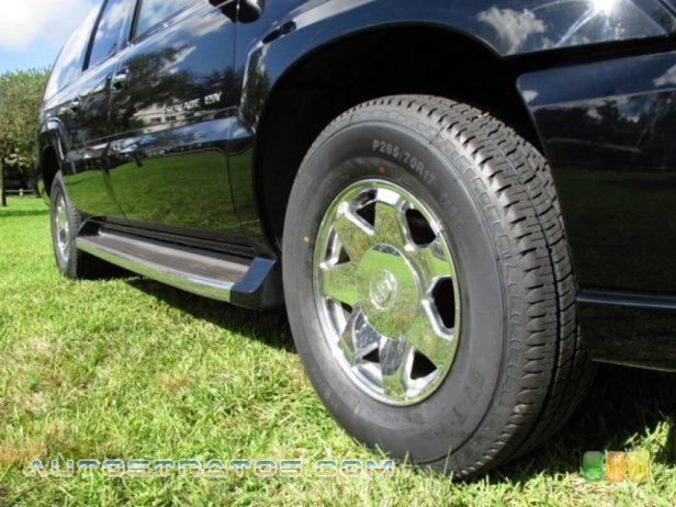 2003 Cadillac Escalade ESV AWD 6.0 Liter OHV 16-Valve V8 4 Speed Automatic