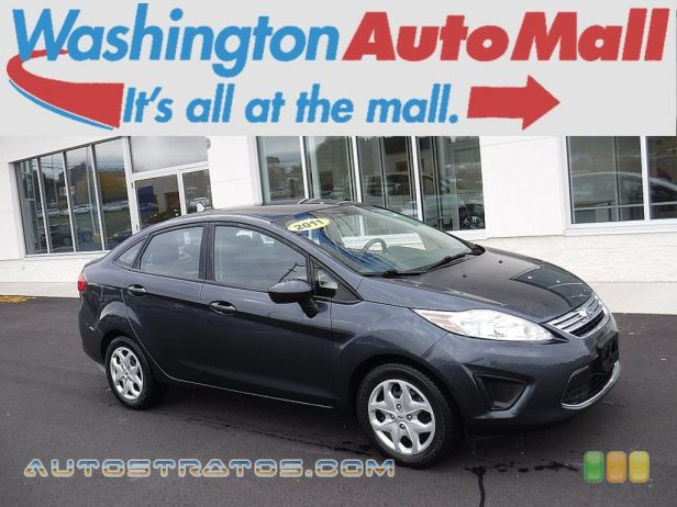 2011 Ford Fiesta SE Sedan 1.6 Liter DOHC 16-Valve Ti-VCT Duratec 4 Cylinder 6 Speed PowerShift Automatic
