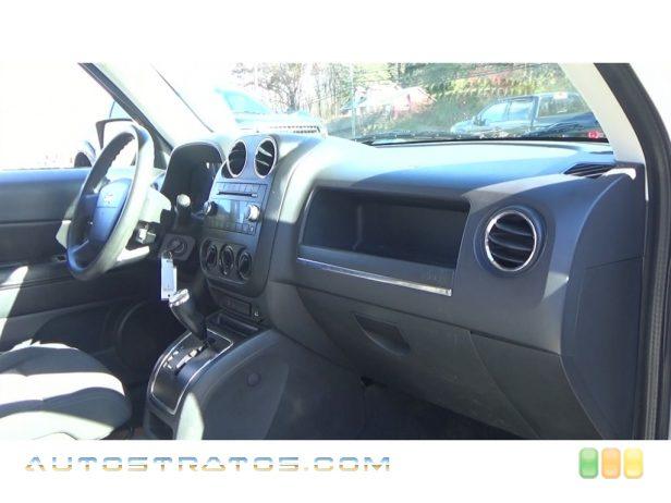 2009 Jeep Patriot Sport 4x4 2.4 Liter DOHC 16-Valve Dual VVT 4 Cylinder CVT2 Automatic
