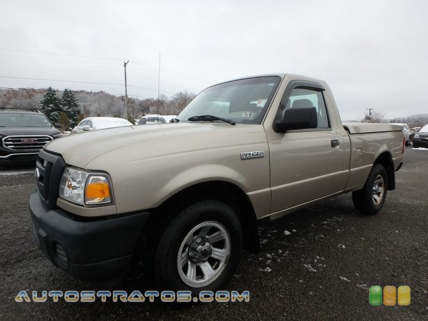 2008 Ford Ranger XLT Regular Cab 2.3 Liter DOHC 16V Duratec 4 Cylinder 5 Speed Automatic