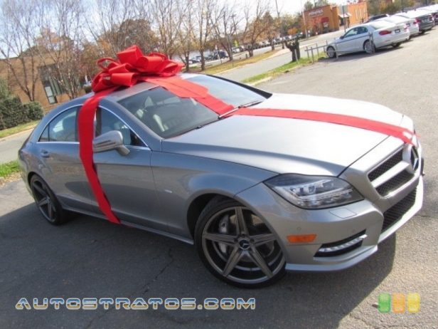 2012 Mercedes-Benz CLS 550 Coupe 4.6 Liter Twin-Turbocharged DI DOHC 32-Valve VVT V8 7 Speed Automatic