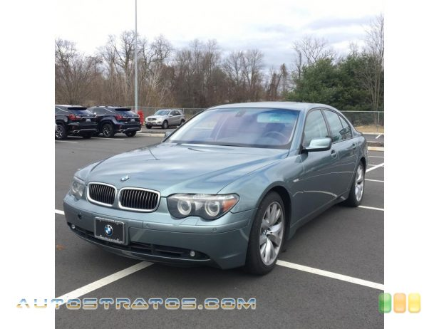 2004 BMW 7 Series 745i Sedan 4.4 Liter DOHC 32 Valve V8 6 Speed Steptronic Automatic