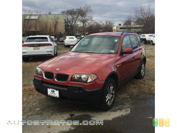 2004 BMW X3 2.5i 2.5L DOHC 24V Inline 6 Cylinder 6 Speed Manual