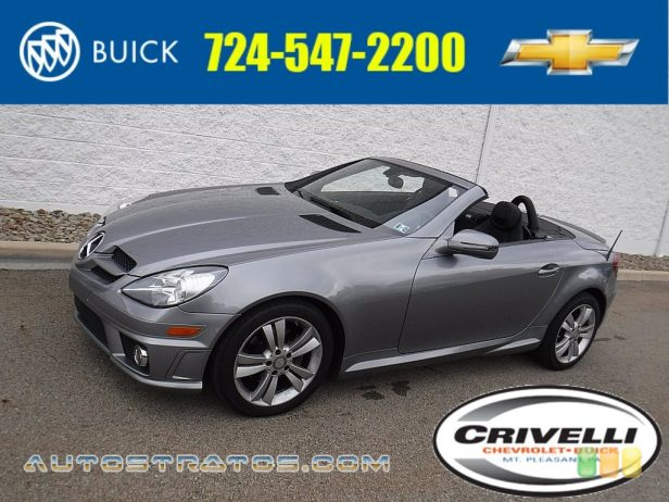 2011 Mercedes-Benz SLK 300 Roadster 3.0 Liter DOHC 24-Valve VVT V6 7 Speed Automatic