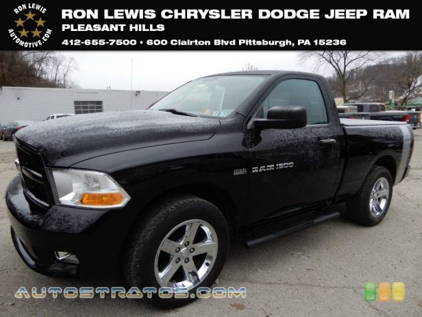 2012 Dodge Ram 1500 ST Regular Cab 4x4 5.7 Liter HEMI OHV 16-Valve VVT MDS V8 6 Speed Automatic