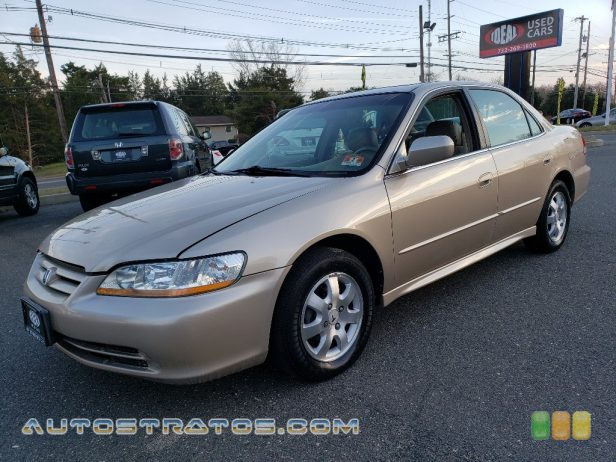 2002 Honda Accord EX Sedan 2.3 Liter SOHC 16-Valve VTEC 4 Cylinder 4 Speed Automatic