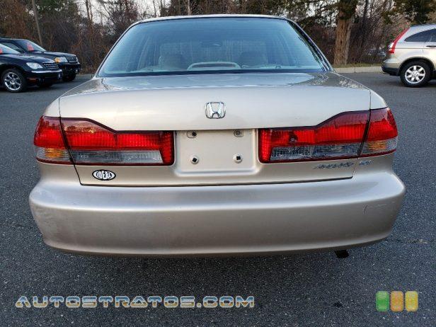 2002 Honda Accord EX Sedan 2.3 Liter SOHC 16-Valve VTEC 4 Cylinder 4 Speed Automatic