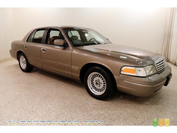 2002 Ford Crown Victoria LX 4.6 Liter SOHC 16-Valve V8 4 Speed Automatic