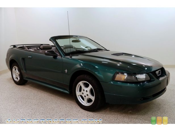 2002 Ford Mustang V6 Convertible 3.8 Liter OHV 12-Valve V6 4 Speed Automatic