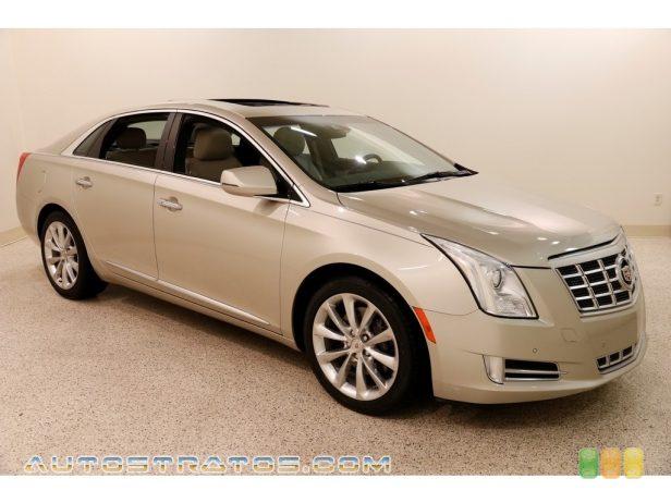 2014 Cadillac XTS Luxury AWD 3.6 Liter SIDI DOHC 24-Valve VVT V6 6 Speed Automatic