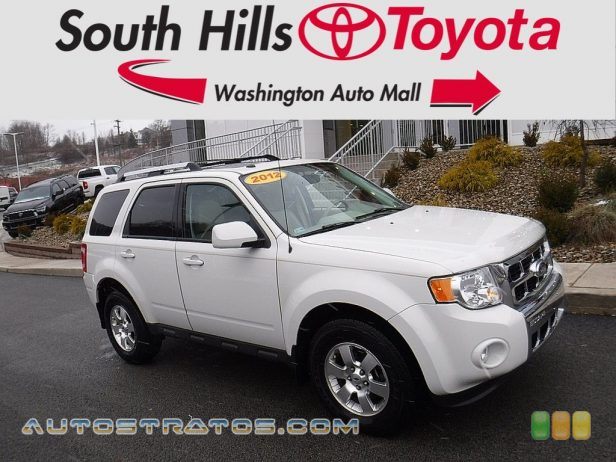 2012 Ford Escape Limited V6 4WD 3.0 Liter DOHC 24-Valve Duratec Flex-Fuel V6 6 Speed Automatic