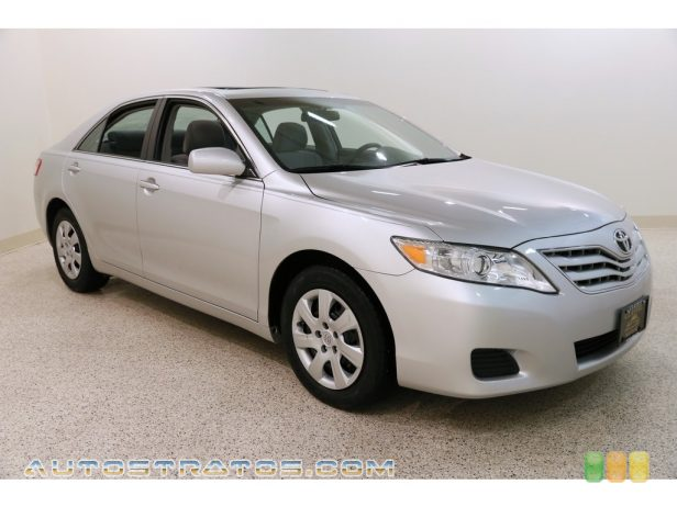 2011 Toyota Camry LE 2.5 Liter DOHC 16-Valve Dual VVT-i 4 Cylinder 6 Speed ECT-i Automatic