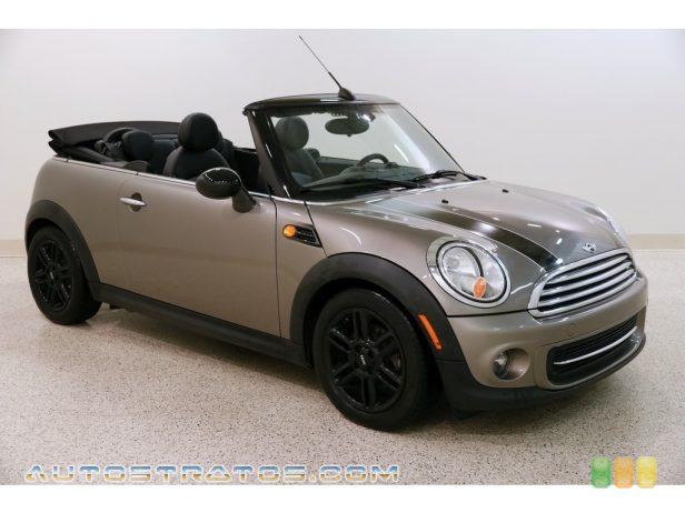 2013 Mini Cooper Convertible 1.6 Liter DOHC 16-Valve VVT 4 Cylinder 6 Speed Manual