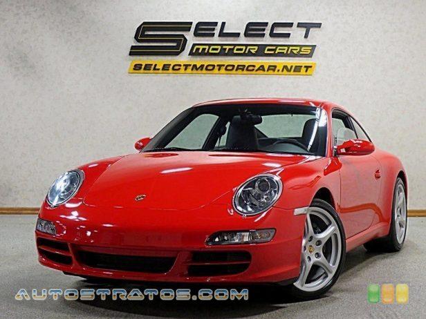 2008 Porsche 911 Carrera Coupe 3.6 Liter DOHC 24V VarioCam Flat 6 Cylinder 6 Speed Manual