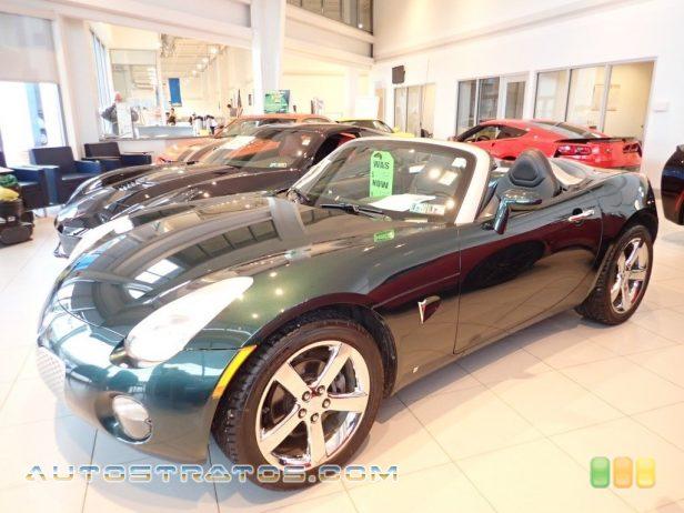 2006 Pontiac Solstice Roadster 2.4 Liter DOHC 16-Valve VVT Ecotec 4 Cylinder 5 Speed Automatic