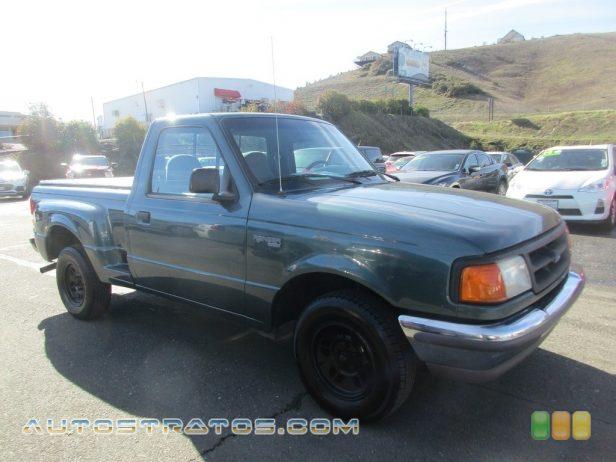1997 Ford Ranger XLT Regular Cab 2.3 Liter SOHC 8-Valve 4 Cylinder 5 Speed Manual