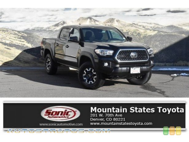 2019 Toyota Tacoma TRD Off-Road Double Cab 4x4 3.5 Liter DOHC 24-Valve VVT-i V6 6 Speed Automatic