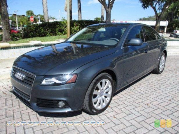 2009 Audi A4 2.0T Premium quattro Sedan 2.0 Liter FSI Turbocharged DOHC 16-Valve VVT 4 Cylinder 6 Speed Tiptronic Automatic