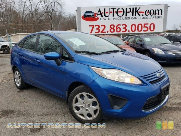 2011 Ford Fiesta S Sedan 1.6 Liter DOHC 16-Valve Ti-VCT Duratec 4 Cylinder 5 Speed Manual