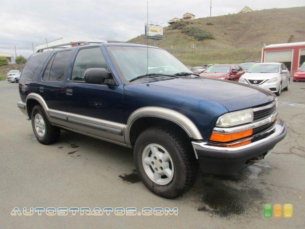 1999 Chevrolet Blazer LT 4x4 4.3 Liter OHV 12-Valve V6 4 Speed Automatic
