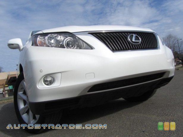 2010 Lexus RX 350 3.5 Liter DOHC 24-Valve VVT-i V6 6 Speed ECT Automatic