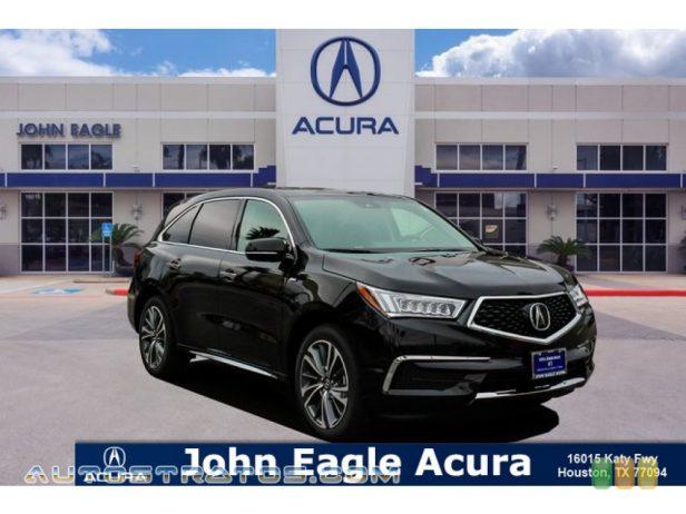 2019 Acura MDX Sport Hybrid SH-AWD 3.0 Liter SOHC 24-Valve i-VTEC V6 Gasoline/Electric Hybrid 7 Speed DCT Automatic