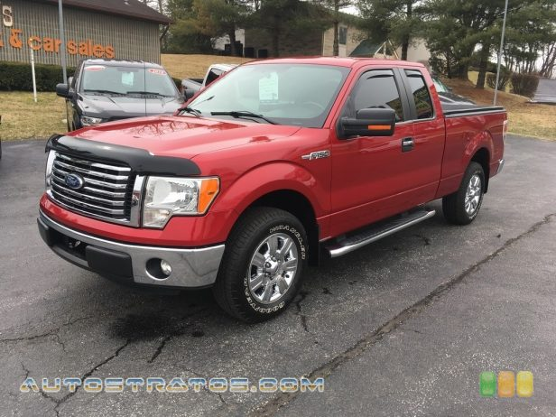 2012 Ford F150 XLT SuperCab 3.7 Liter Flex-Fuel DOHC 24-Valve Ti-VCT V6 6 Speed Automatic