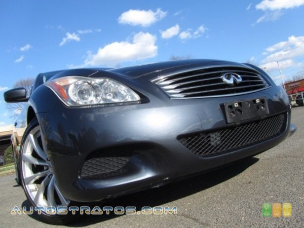 2008 Infiniti G 37 S Sport Coupe 3.7 Liter DOHC 24-Valve VVT V6 6 Speed Manual