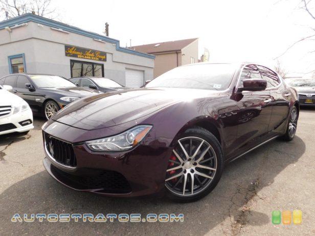 2014 Maserati Ghibli S Q4 3.0 Liter DI Twin-Turbocharged DOHC 24-Valve VVT V6 8 Speed ZF Automatic