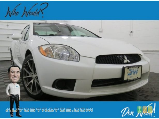 2012 Mitsubishi Eclipse SE Coupe 2.4 Liter SOHC 16-Valve MIVEC 4 Cylinder 4 Speed Sportronic Automatic
