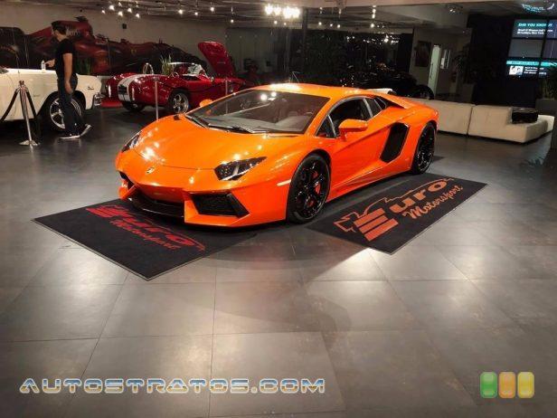 2012 Lamborghini Aventador LP 700-4 6.5 Liter DOHC 48-Valve VVT V12 7 Speed ISR Automatic