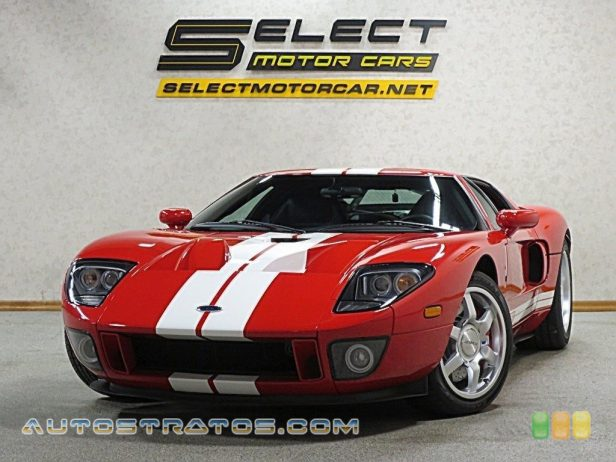 2005 Ford GT  5.4 Liter Lysholm Twin-Screw Supercharged DOHC 32V V8 6 Speed Manual