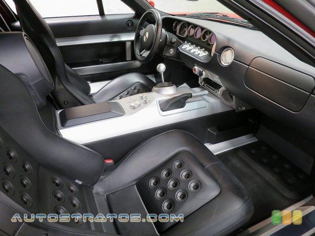 2005 Ford GT  5.4 Liter Lysholm Twin-Screw Supercharged DOHC 32V V8 6 Speed Manual