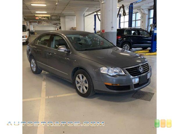 2006 Volkswagen Passat 2.0T Sedan 2.0L DOHC 16V Turbocharged 4 Cylinder 6 Speed Tiptronic Automatic