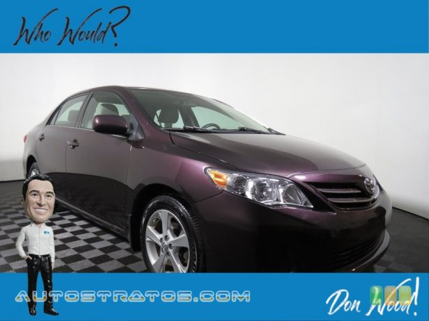 2013 Toyota Corolla LE Special Edition 1.8 Liter DOHC 16-Valve Dual VVT-i 4 Cylinder 4 Speed ECT-i Automatic